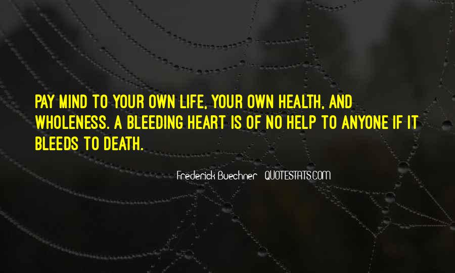 Heart And Health Quotes #671463