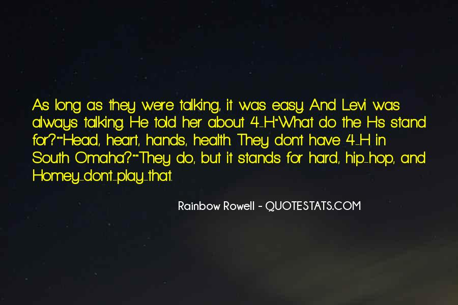 Heart And Health Quotes #791465