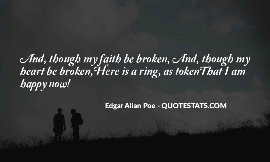 Heart Broken Happy Quotes #116080