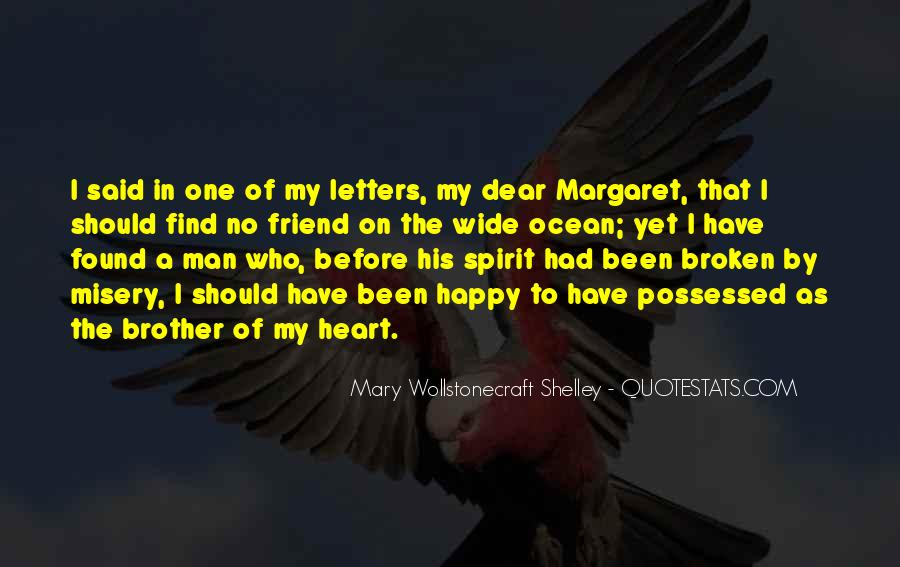 Heart Broken Happy Quotes #1756383