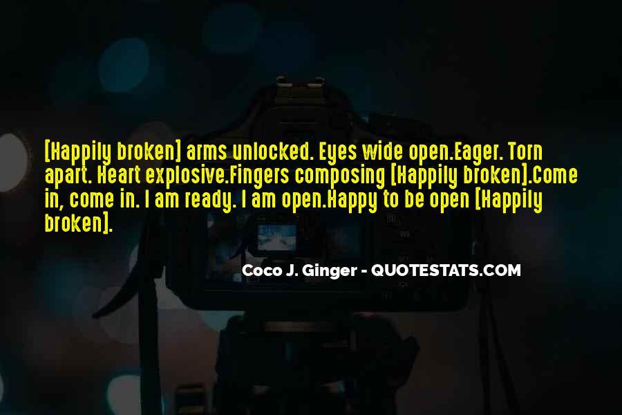 Heart Broken Happy Quotes #21677