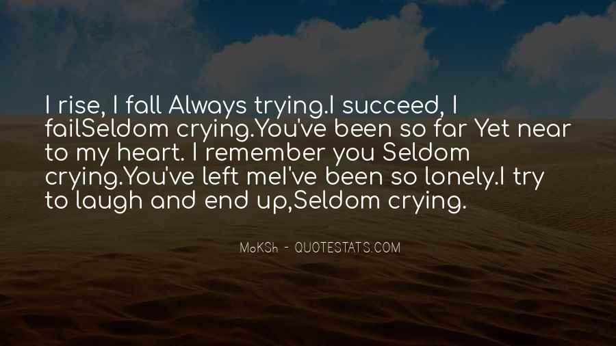 Heart Crying Love Quotes #270975