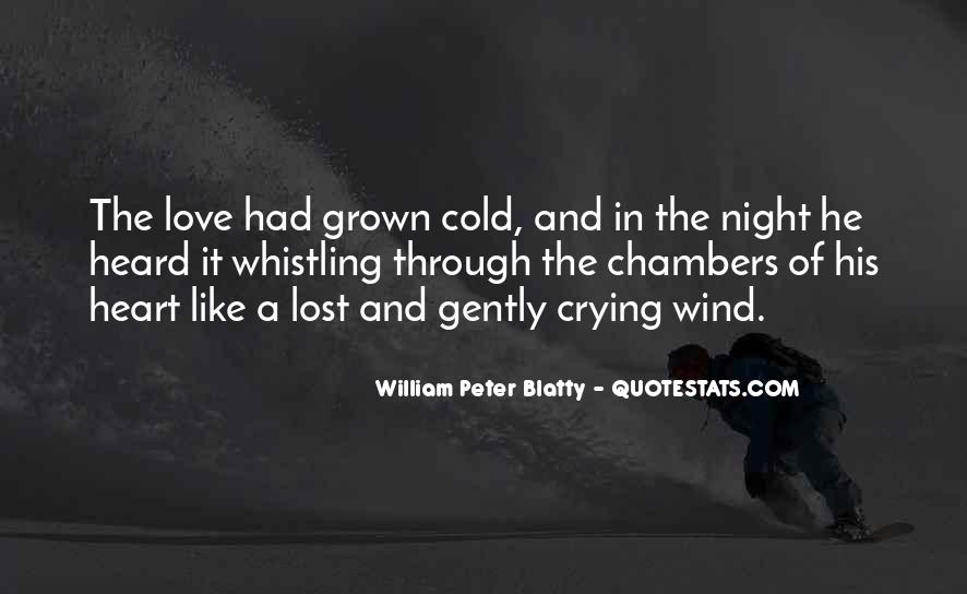 Heart Crying Love Quotes #482459