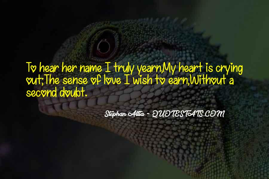 Heart Crying Love Quotes #791218