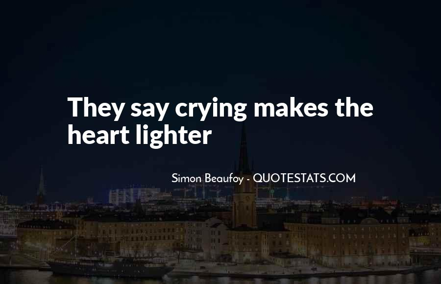 Heart Crying Love Quotes #936267