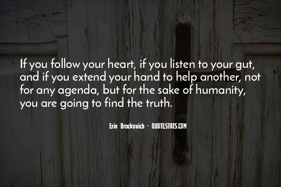 Heart Follow Quotes #144439