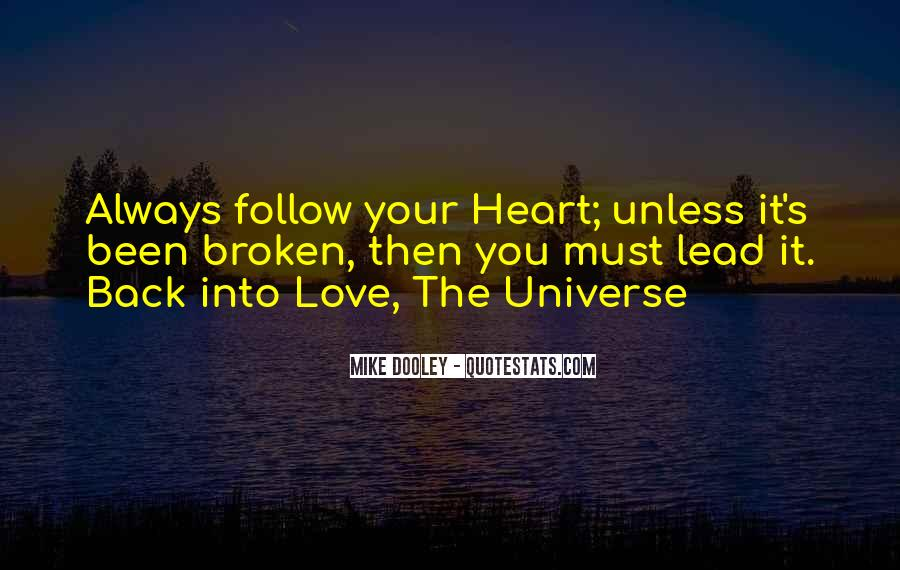 Heart Follow Quotes #166728