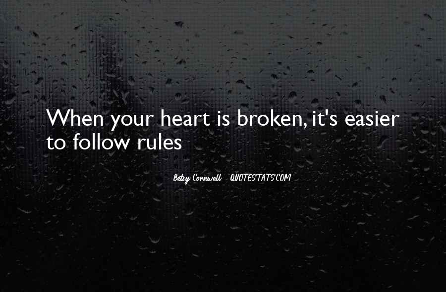 Heart Follow Quotes #260983