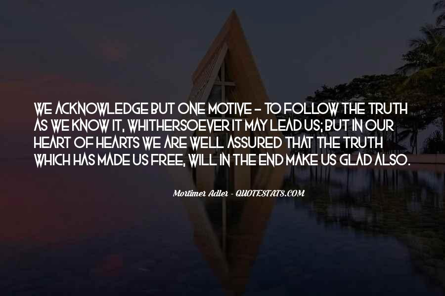 Heart Follow Quotes #283413