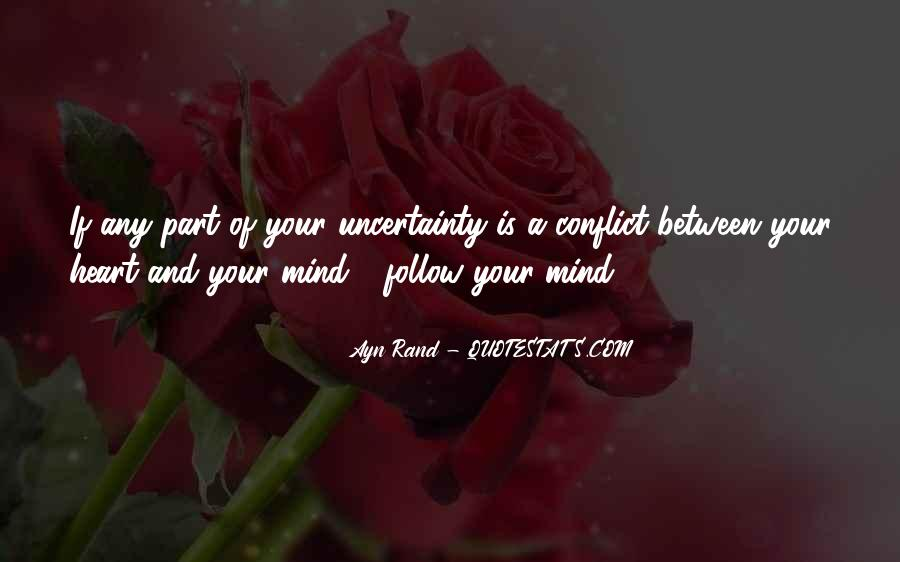 Heart Follow Quotes #366105