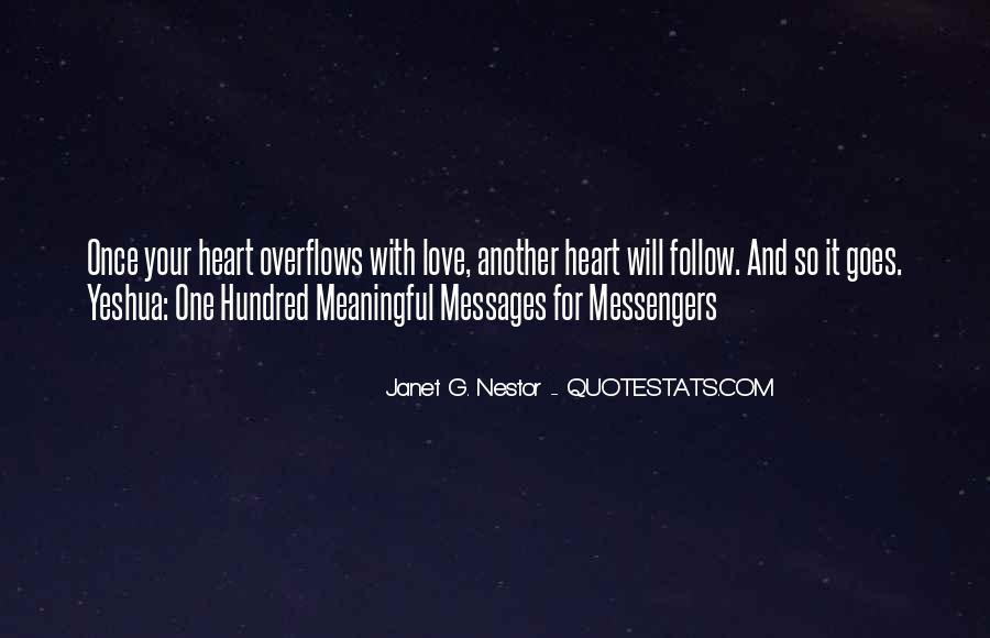 Heart Follow Quotes #46719