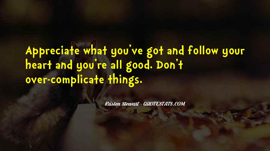Heart Follow Quotes #53656