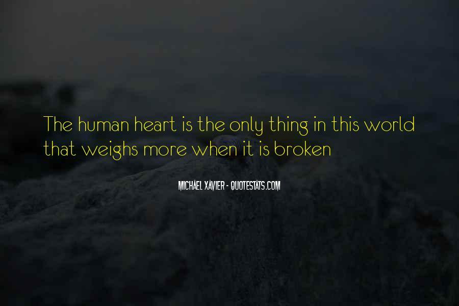 Heart Is Broken Quotes #107691