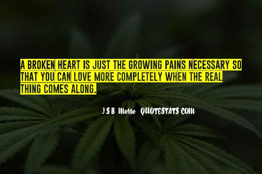 Heart Is Broken Quotes #119489