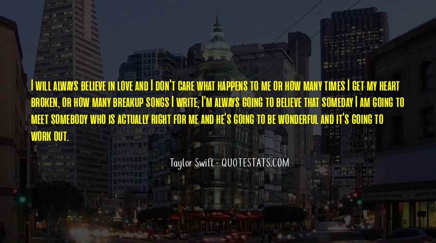 Heart Is Broken Quotes #14935