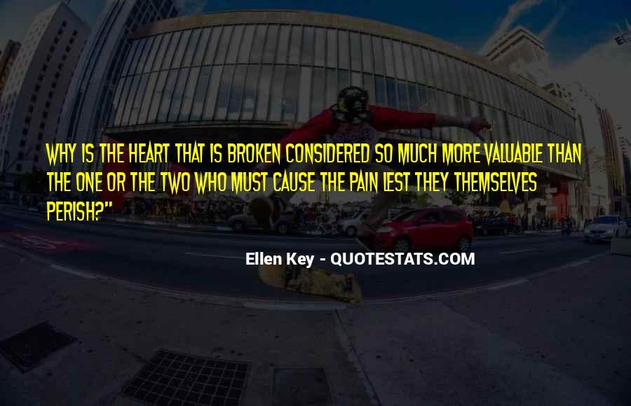 Heart Is Broken Quotes #193815