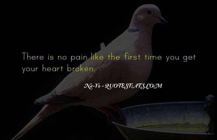 Heart Is Broken Quotes #204249
