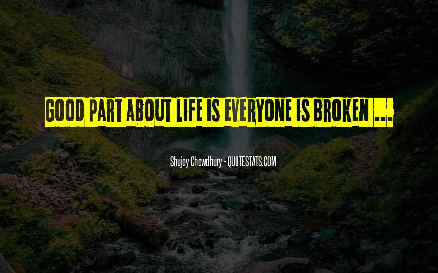 Heart Is Broken Quotes #212167