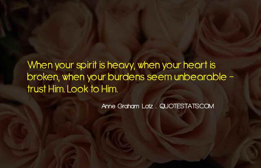 Heart Is Broken Quotes #222907
