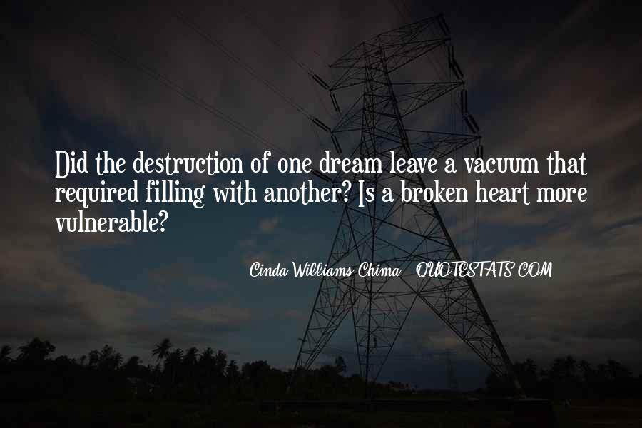 Heart Is Broken Quotes #244780