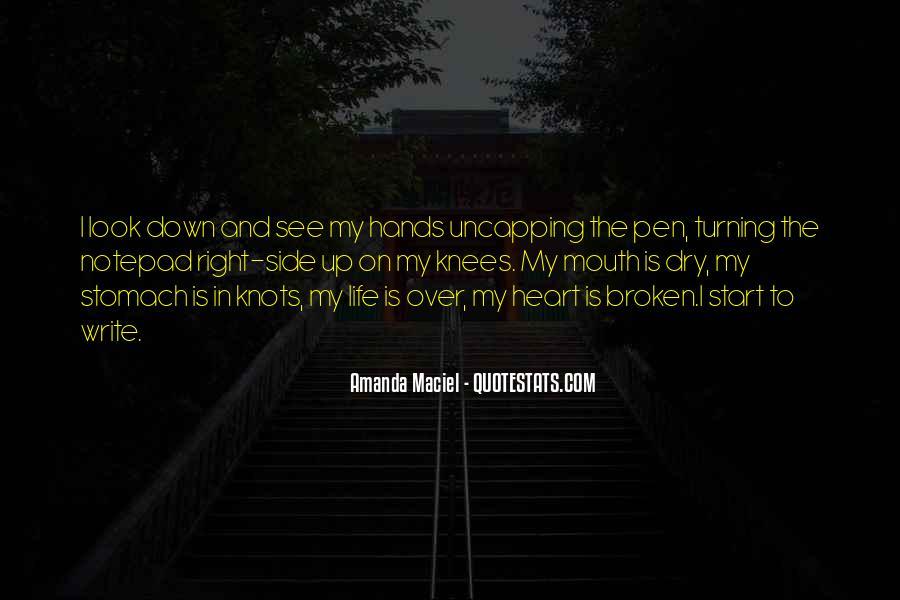 Heart Is Broken Quotes #277417