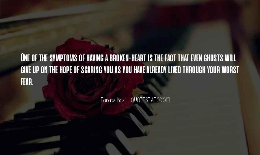 Heart Is Broken Quotes #29764