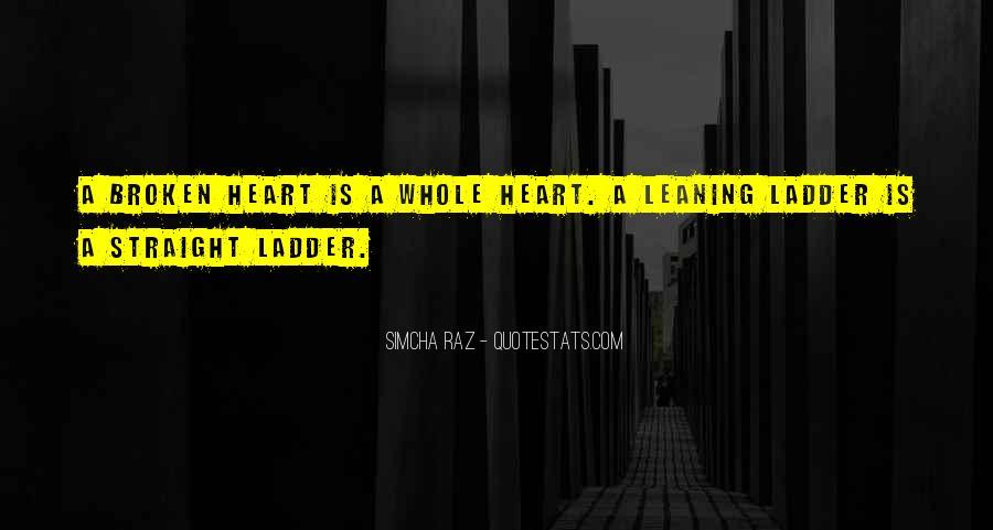 Heart Is Broken Quotes #300491