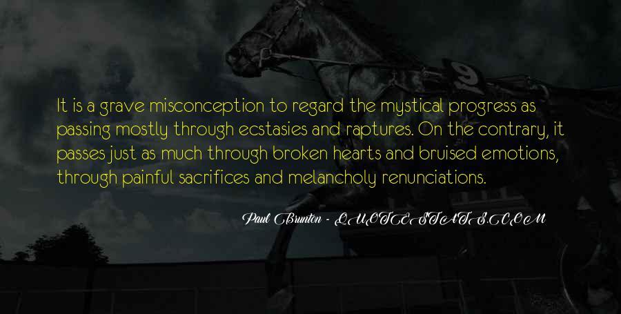 Heart Is Broken Quotes #318689