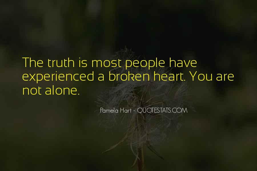 Heart Is Broken Quotes #338487