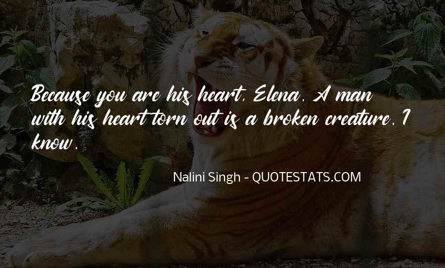 Heart Is Broken Quotes #350790