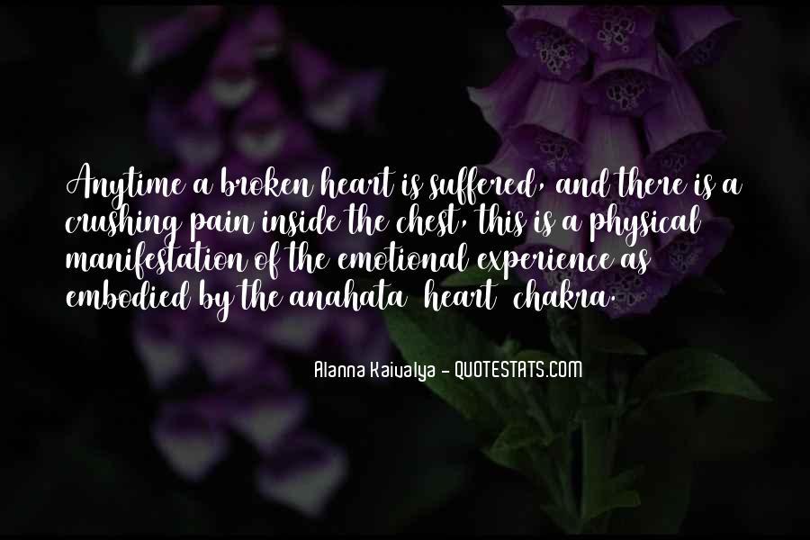 Heart Is Broken Quotes #3726