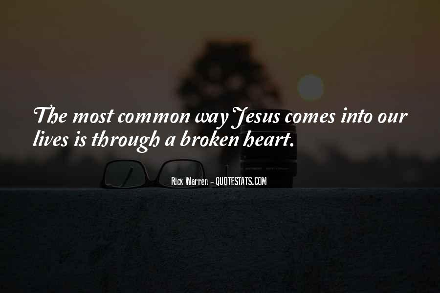 Heart Is Broken Quotes #397322