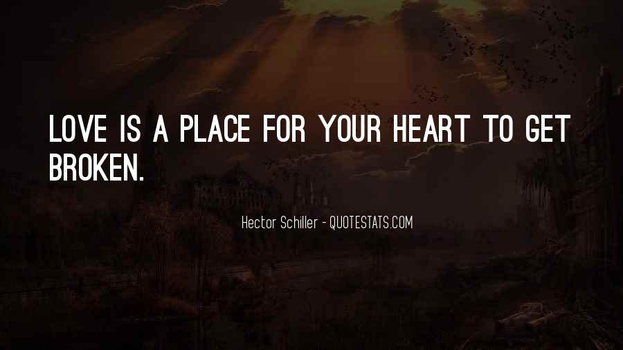 Heart Is Broken Quotes #398148