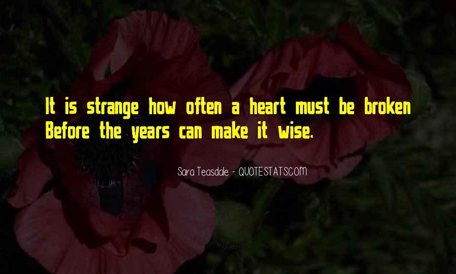 Heart Is Broken Quotes #435597