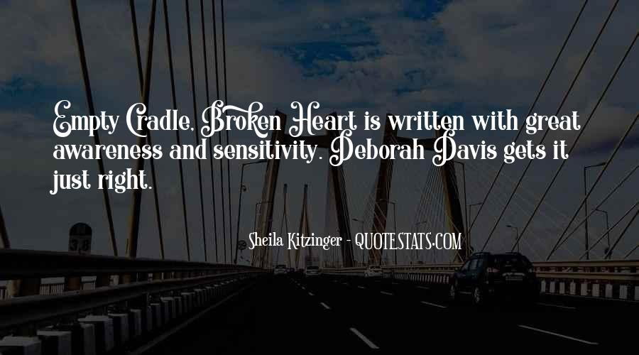 Heart Is Broken Quotes #87490
