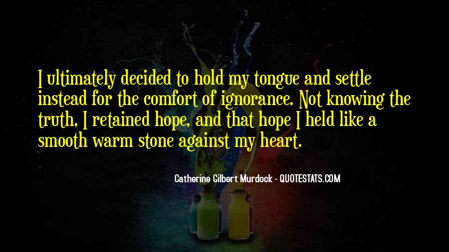 Heart Like Stone Quotes #1819842