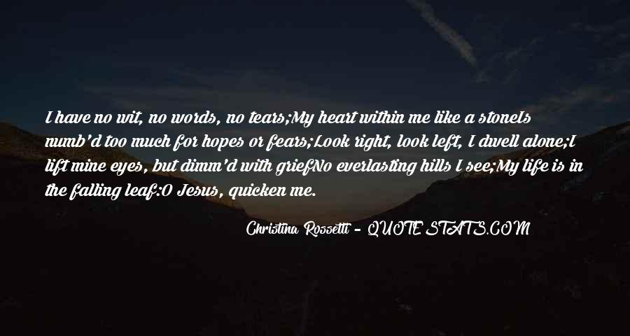 Heart Like Stone Quotes #1856561