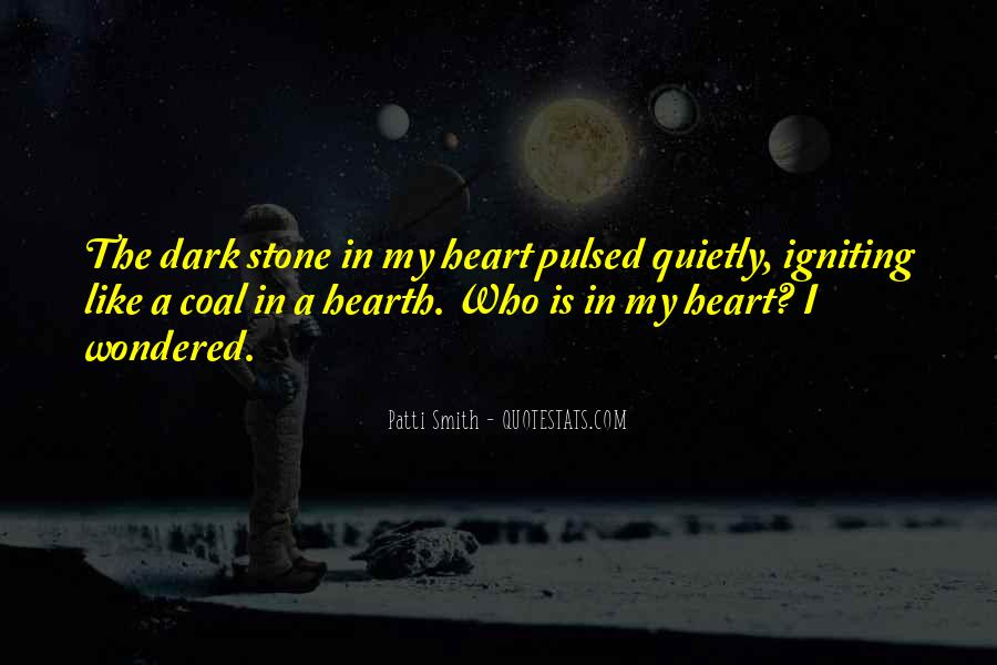 Heart Like Stone Quotes #492554