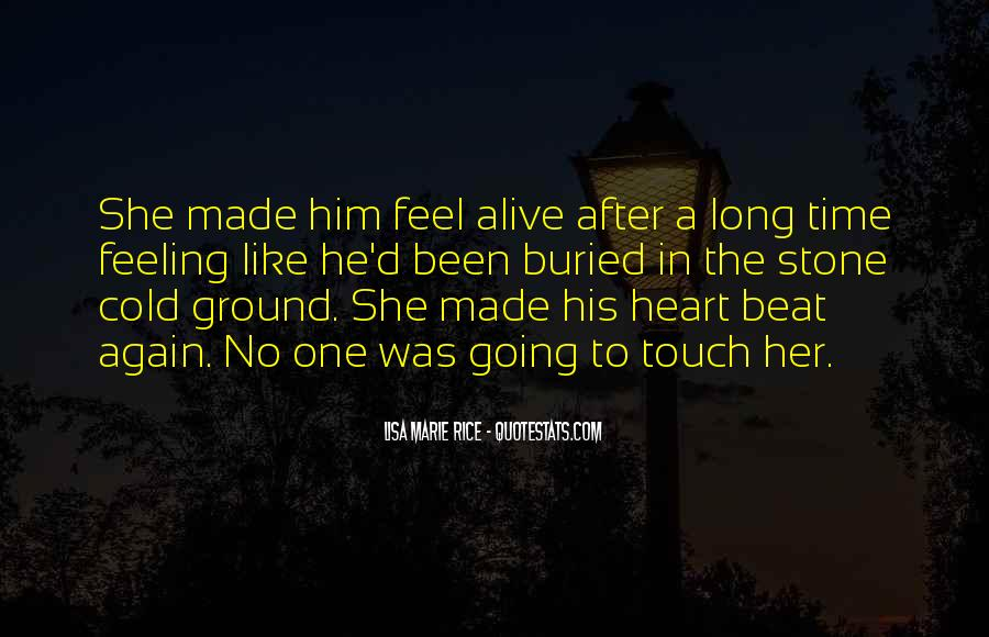 Heart Like Stone Quotes #714160