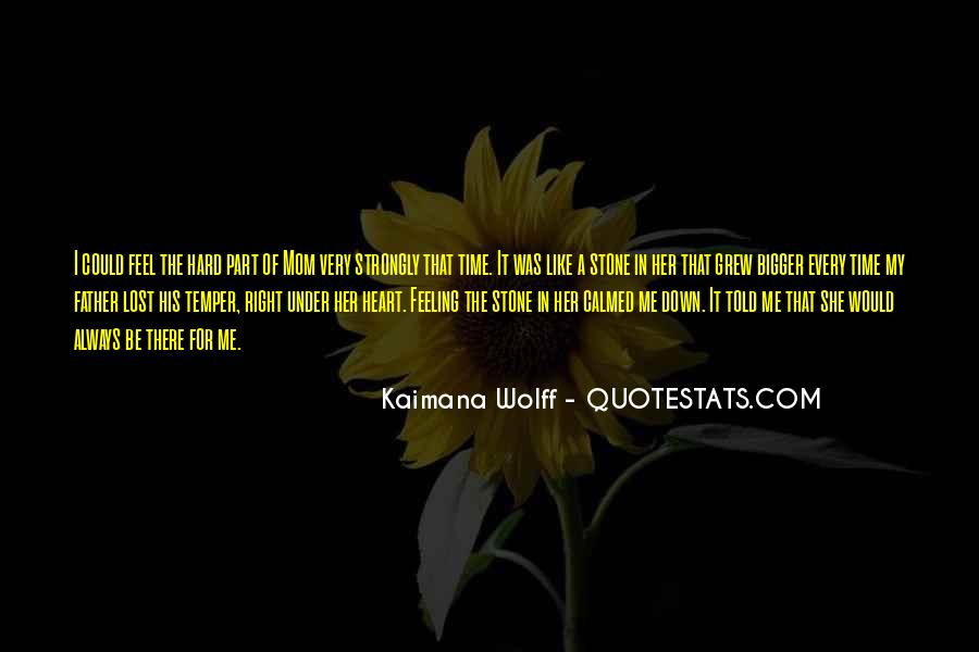 Heart Like Stone Quotes #945646