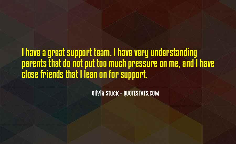 Quotes About Friends Who Support You #94414