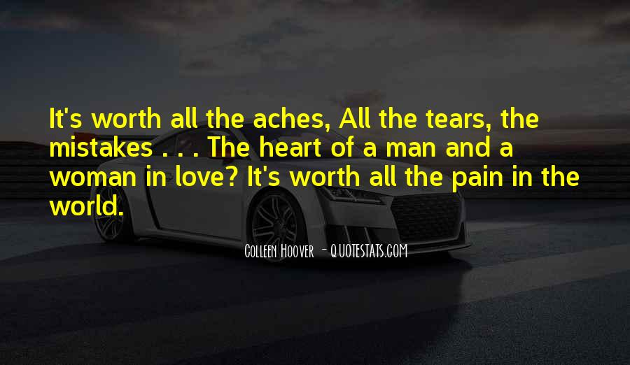 Heart Pain Love Quotes #235838