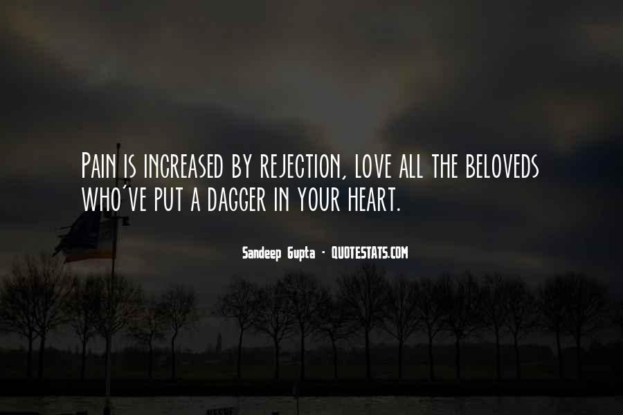 Heart Pain Love Quotes #452449