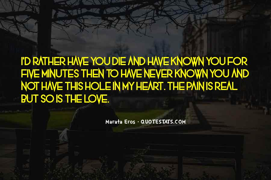 Heart Pain Love Quotes #468842