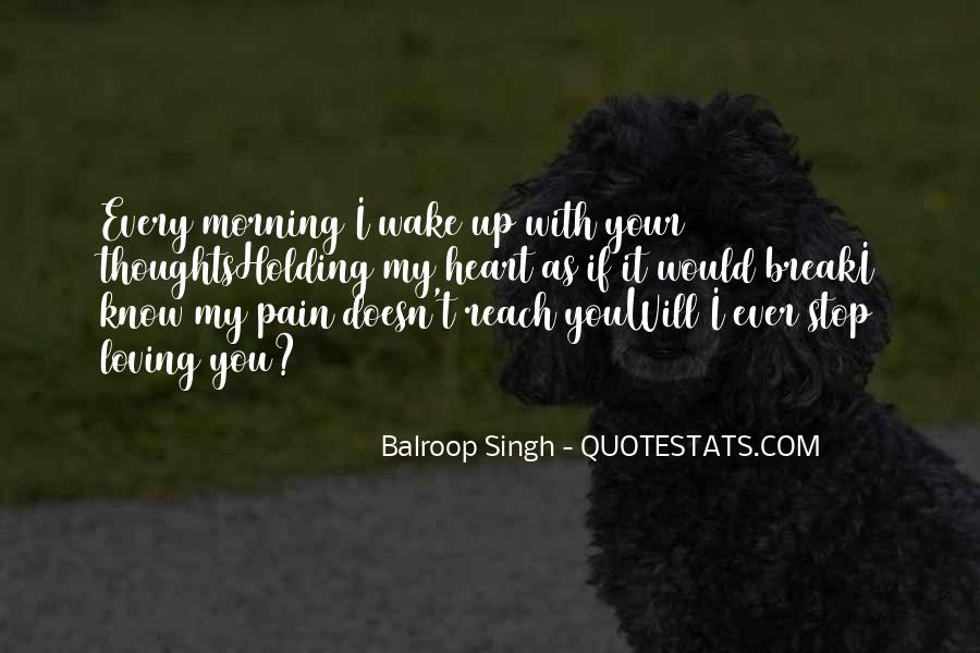 Heart Pain Love Quotes #556059