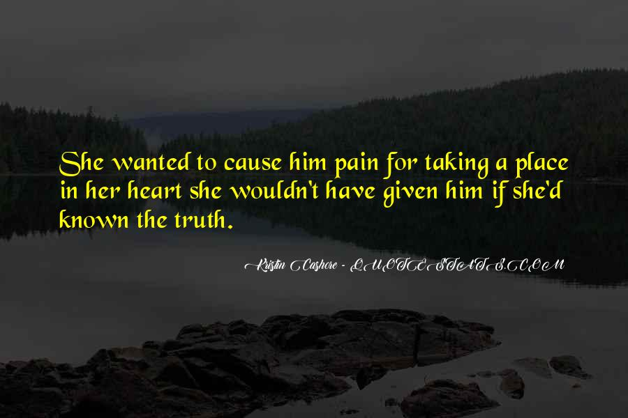 Heart Pain Love Quotes #690498