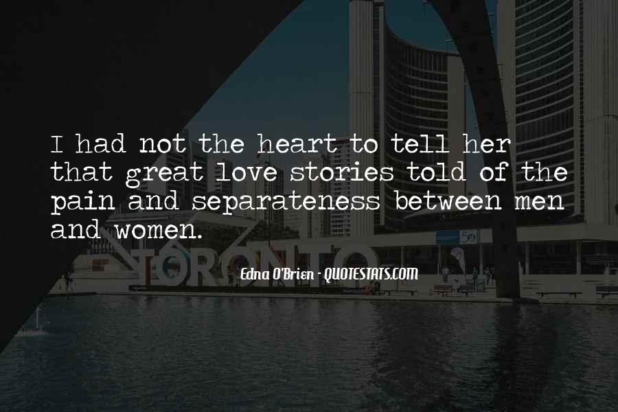 Heart Pain Love Quotes #855581