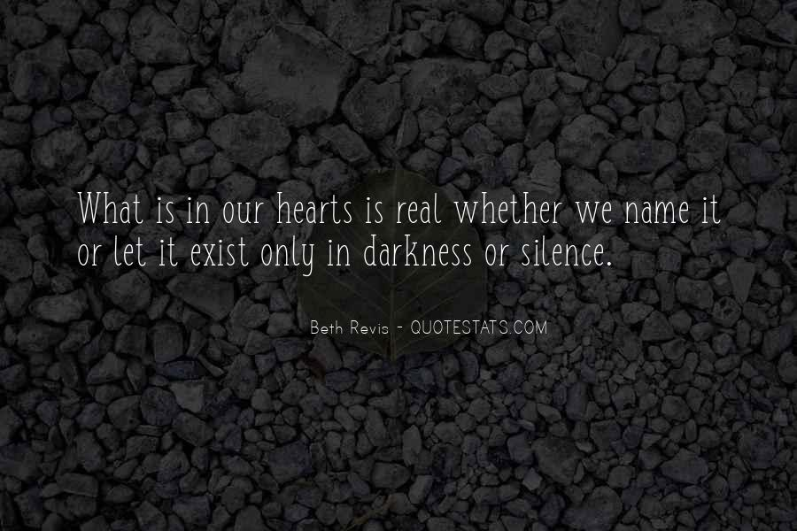 Hearts Of Darkness Quotes #310983