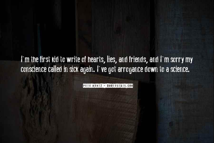 Hearts Of Friends Quotes #1851145