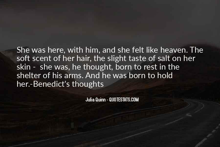 Heaven In Your Arms Quotes #1012525